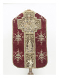 Orphrey Chasuble Embroidered with Figures of Saints. Giclee Print