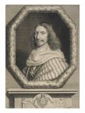 Nicolas Potier, seigneur de Novion, premier président au parlement de Paris (mort en 1693) Giclee Print by Robert Nanteuil