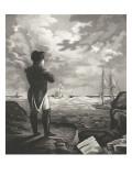 Napoléon méditant à Sainte-Hélène Giclee Print
