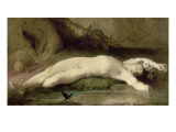 Narcisse Giclee Print by Jean Georges Vibert
