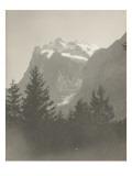 Paysage de montagne Giclee Print