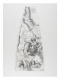 Modèle du globe céleste pour l'année 1700 par C. Coronelli : les Gémeaux Giclée-Druck von Arnould de Vuez