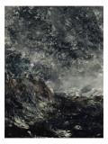 Marine avec récif Giclée-tryk af August Johan Strindberg