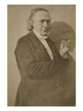 Charles Philipon (1800-1862), journaliste et caricaturiste Reproduction proc&#233;d&#233; gicl&#233;e par Gaspard F&#233;lix Tournachon