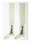 Pair of Silk Stockings That Belonged to Napoleon I. Giclee Print