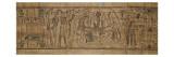 Papyrus mythologique de Neskapashouty, scribe comptable des grains du grenier d'Amon Lámina giclée
