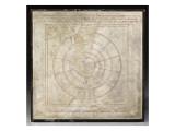 Planisphere Bianchini (Egyptian-Greek Planisphere) Giclee Print