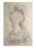 Marie-Antoinette, reine de France (1755-1793) Giclée-Druck von Elisabeth Louise Vigée-LeBrun