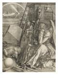 Mélancolie Reproduction procédé giclée par Albrecht Dürer
