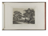 Memories of Fontainebleau, Dedicated to the Duchess of Aumale Premium Giclée-tryk af Ch. Walter