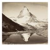 Paysage de montagne, le Mont Cervin Giclee Print