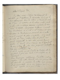 Noa Noa Album: Notes Handwritten Notes of Edgar Poe Giclee Print by Paul Gauguin