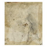 Enfant nu marchant vers la gauche Giclée-tryk af Domenico Beccafumi