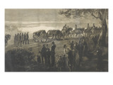 On the Road to Chislehurst. Friday Evening, July 1879 Giclee Print