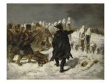 Le Maréchal Ney à la redoute de Kovno (1812) Giclee Print by Denis Auguste Marie Raffet