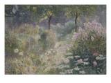 Chemin fleuri Giclee Print by Emile Claus