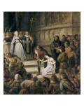 Notre Dame De Paris. the Apology (Book Viii, Ch.Vi) Giclee Print by Louis Boulanger