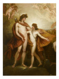 Pha&#235;ton sollicitant d&#39;Apollon la conduite du Soleil Giclee Print by Benjamin West