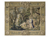 Part of the Tapestry of the Old Testament of Moses Giclee Print by Simon Vouet