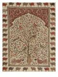 Panneau peint (pichvai) à l'arbre de vie Reproduction procédé giclée