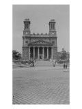 Paris. 10th District. Church of St. Vincent De Paul Giclee Print