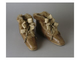Pair of Booties Filled Belonging to Empress Josephine Giclee Print