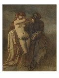 Nu. Etude pour Timon d'Athènes Giclee Print by Thomas Couture