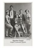 Ogeritas Troops. Original Gymnastyk - Neuheit (1911) Giclee Print