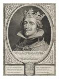 Philippe IV, roi d'Espagne (d'après Rubens) Giclée-Druck von Cornelius de Visscher