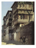 Pescembe - Bazar à Constantinople Impression giclée par Alberto Pasini