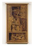 Panneau; Attributs de la Vanité Giclée-Druck von da Verona Vincenzo