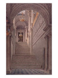 Palais Des Tuileries, Saw Nine of the Staircase Hall Giclee Print by Eugène Viollet-le-Duc