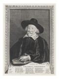 Pierre Scriverius Giclée-Druck von Cornelius de Visscher