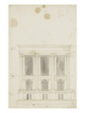 Projet pour le tombeau de saint Sebald Giclée-Druck von Herman Vischer