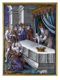 Plaque : la présentation au temple Giclee Print by Pierre Reymond