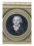 Portrait of Jean Antoine Houdon (1741-1828), Sculptor Giclee Print by Jean Baptiste Isabey