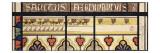 Projet pour les vitraux de la chapelle royale de Dreux Giclée-Druck von Eugène Viollet-le-Duc