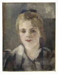 Portrait de jeune fille Giclee Print by Alfred Roll