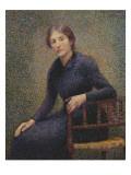 Portrait de madame Petitjean Gicleetryck av Hippolyte Petitjean