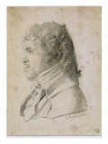 Portrait of an Unknown (Mr Suvée Bonnat in Inventory) Giclee Print by Jean-Auguste-Dominique Ingres