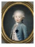 Portrait de Louis Antoine de Bourbon (1755-1884), duc d'Angoulême à dix ans Giclee Print by Joseph Boze