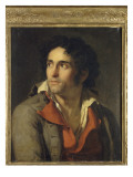 Portrait de son geolier Impression giclée par Jacques-Louis David