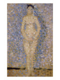 "Poseuse Standing, Front, Study for ""The Installers"" Giclee Print by Georges Seurat"