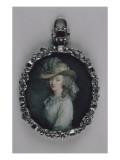 Portrait de madame du Barry (1743-1793) Gicleetryck av Elisabeth Louise Vigée-LeBrun