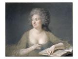 Portrait de Mme Boze, née Françoise, madame Clétier, épouse de l'artiste Giclee Print by Joseph Boze