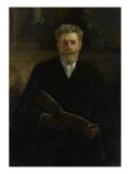 Portrait de l'Artiste en 1909 Giclee Print by Alfred Roll