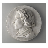 Portrait de jeune homme Lmina gicle por Jean-Baptiste Carpeaux