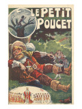 Poster Tom Thumb (After the Tale by Charles Perrault) Giclee Print