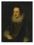 Damenbildnis Giclée-Druck von Cornelis de Vos