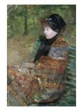 Portrait de Mademoiselle C. Lydia Cassatt Giclée-Druck von Mary Cassatt